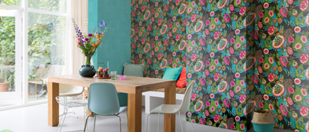 Tapet: Colorful Living
